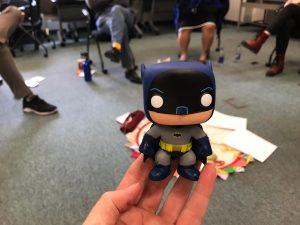 Photo of a batman superhero figure