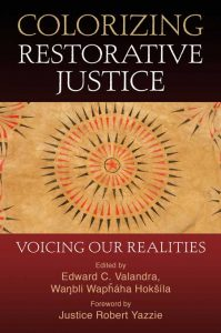 """Colorizing Restorative Justice Book Cover - """"Voicing Our Realities"""""""